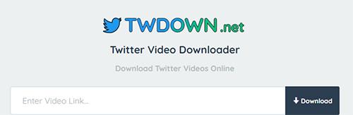Download Twitter Video Twdown