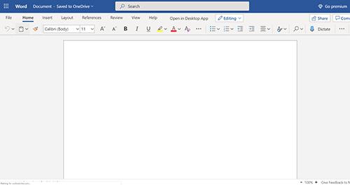 Microsoft Word Free Web