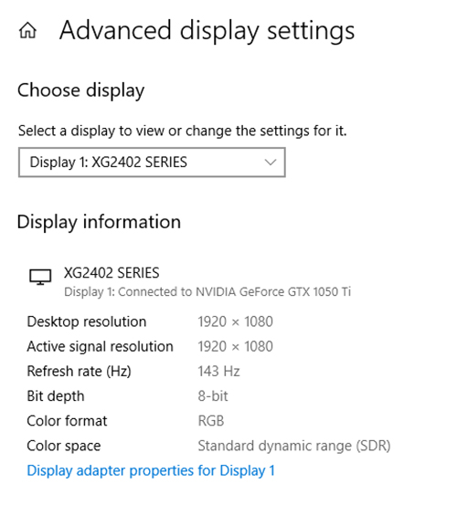 Setup Dual Monitors Windows Advance Settings