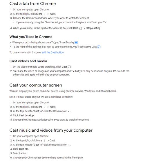 Setup Dual Monitors Windows Chrome Cast