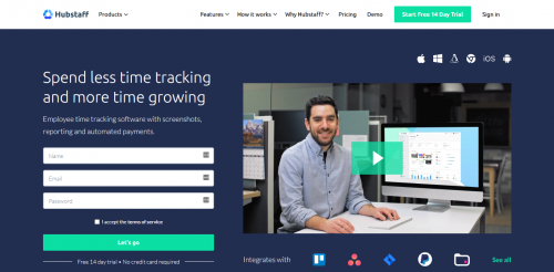 5 Best Employee Monitoring Software for 2020 Hubstaff Time Tracking and Productivity Monitoring Tool