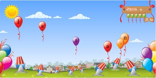 Type-a-Balloon