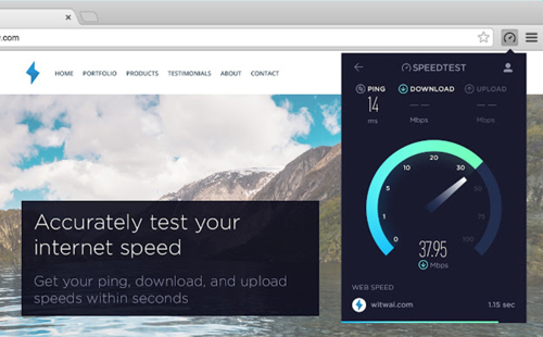 best-google-chrome-extensions-speedtest