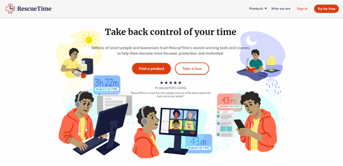 best-time-management-tools-apps-rescue-time