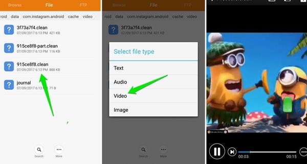 download-instagram-videos-fig-6-download-via-phone