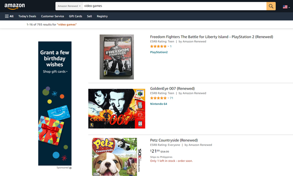 sell-old-video-games-consoles-amazon