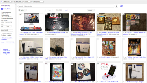 sell-old-video-games-consoles-craigslist