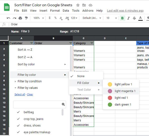 sort-filter-color-google-sheets-sort-by-color-google-sheets-filter-by-color