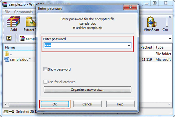 unzip-password-protected-zip-file-lost-password-winrar-enter-password
