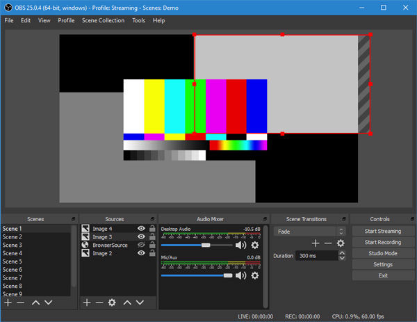 best-blue-yeti-mic-software-windows-10-OBS-Studio