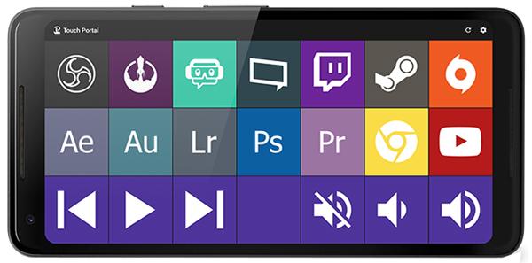 best-stream-deck-apps-mobile-phones-elgato-stream-touch-portal