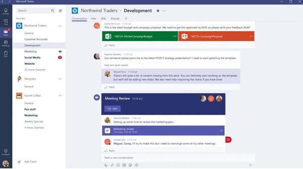 microsoft-teams-tutorial-get-started-fig 1 menu