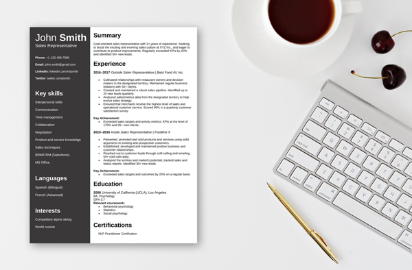 free-resume-templates-microsoft-word-openoffice-libreoffice-fig-12-chronological-resume