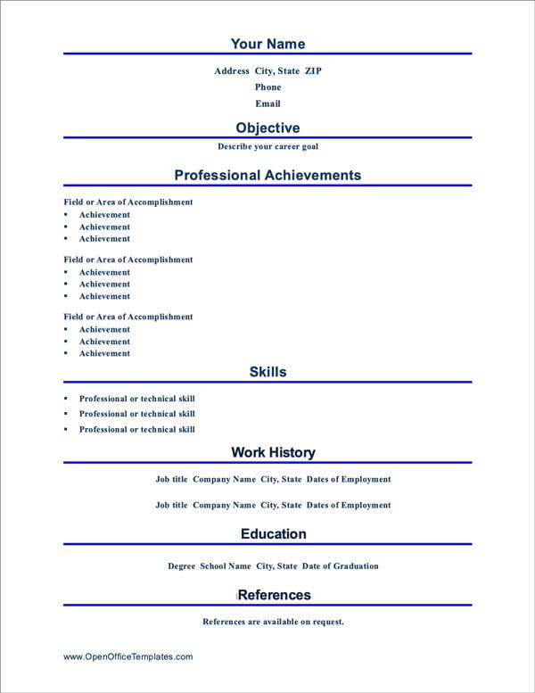 free-resume-templates-microsoft-word-openoffice-libreoffice-fig-15-professional-resume