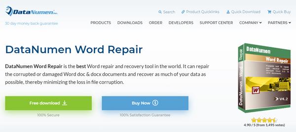 free-tools-repair-recover-corrupt-microsoft-office-word-documents-datanumen-word-repair