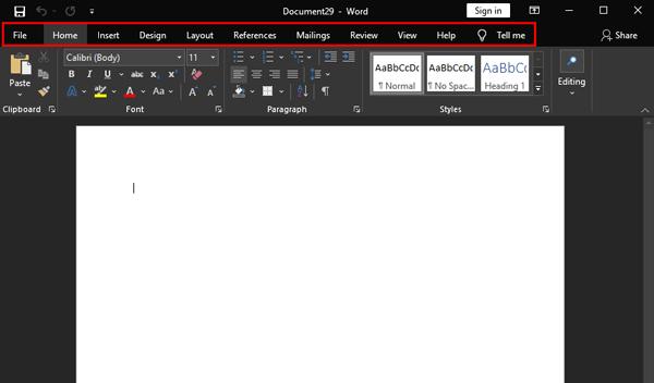 word-microsoft-office-365-cheat-sheet-ribbon