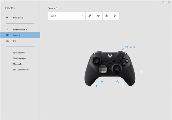 all about xbox accessories app all devices connected