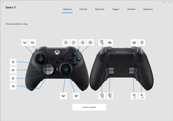 all about xbox accessories app button mapping