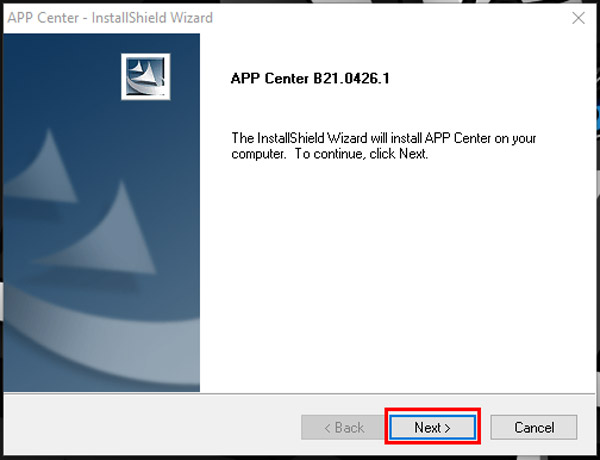 guide to install use gigabyte app center first step