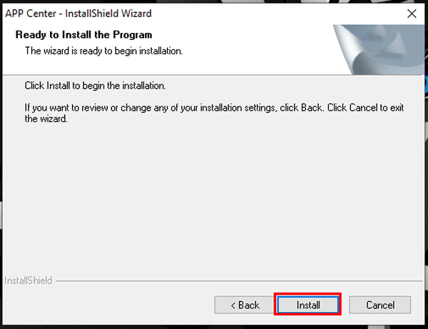 guide to install use gigabyte app center second step install