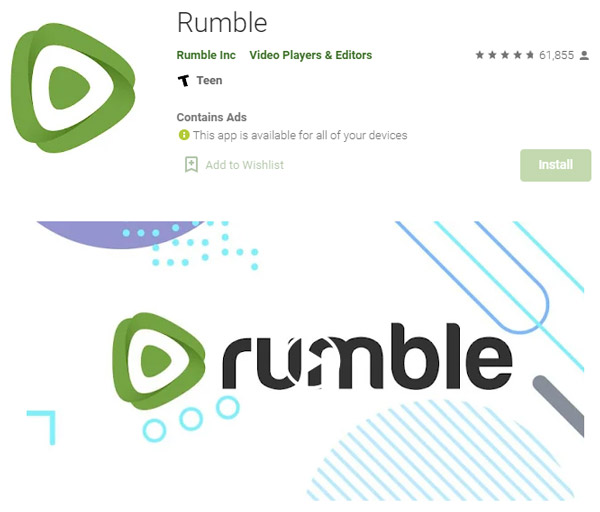 rumble make videos get paid playstore