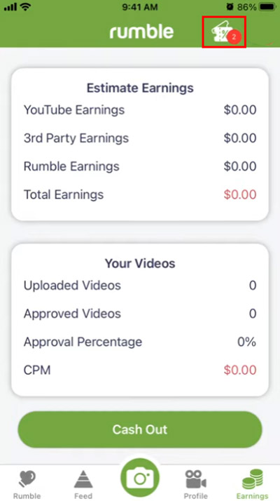 rumble make videos get paid rumble referral button